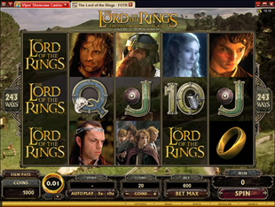 play lord of the rings casino game online